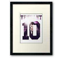 Tennant Jersey Framed Print