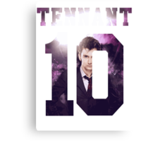 Tennant Jersey Canvas Print