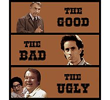 Seinfeld - Mr Bookman - Good Bad Ugly T Shirt Photographic Print
