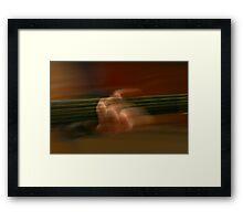 The Music Man Framed Print