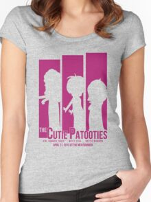 The Cutie Patooties - 2 Women's Fitted Scoop T-Shirt