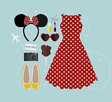 Disney Flatlay by laurenschroer