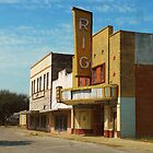Rig Theater, Premont, Texas by garytx