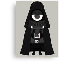 Minion Darth Vader Despicable Me Canvas Print