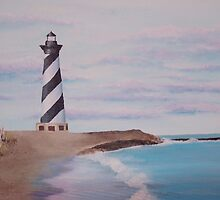 Hatteras Lighthouse by Sandi Redding