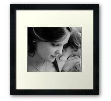 00406 Framed Print