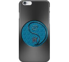Cancer & Tiger Yang Water iPhone Case/Skin