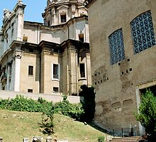 West End Of Roman Forum, Rome, Italy by hojphotography