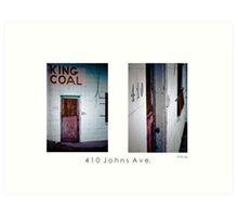 410 Johns Ave. Art Print