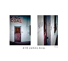 410 Johns Ave. Photographic Print