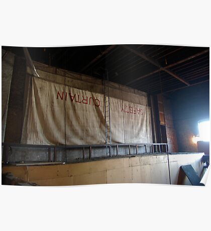 Fading Glory Safety Curtain Poster