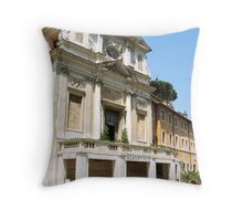 Carcere Mamertino, Rome, Italy  Throw Pillow