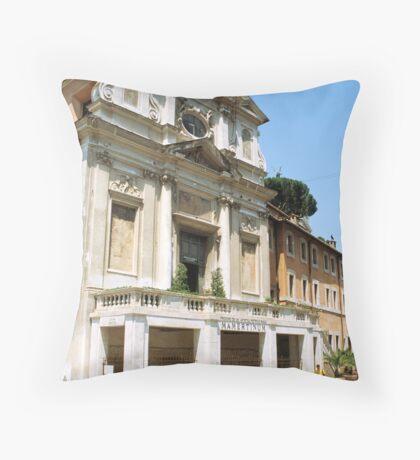 Carcere Mamertino, Rome, Italy  Throw Pillow
