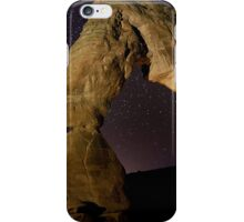Delicate Arch at Night iPhone Case/Skin