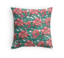 flower all over pattern Throw Pillow