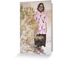 Anna and the Bush Medicine (Aherne Intenke) Greeting Card