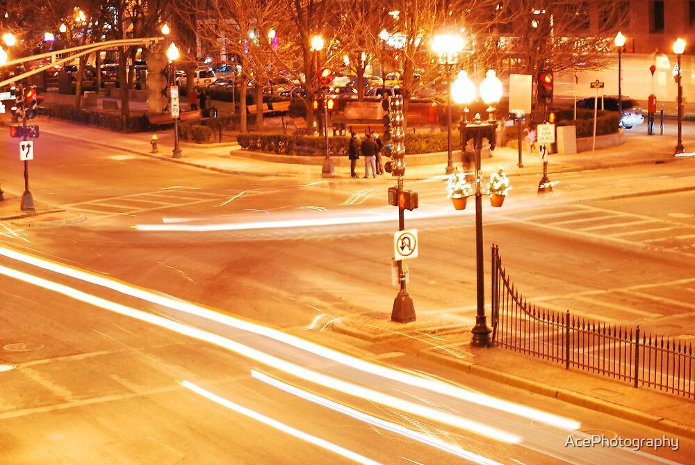 Boston Street Corner by AcePhotography