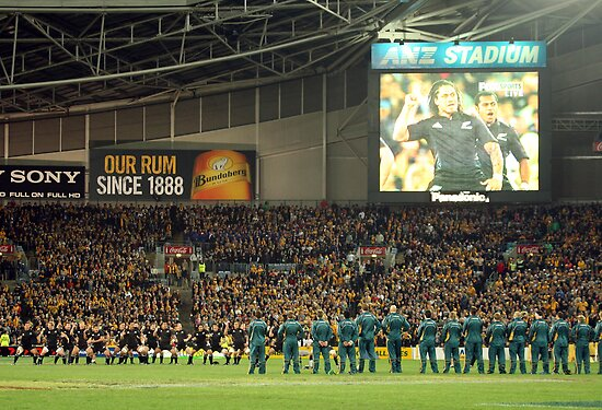 Bledisloe Cup Game 1 by Phillip Cullinan