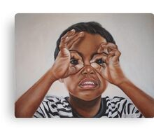 Latham's goggles Canvas Print
