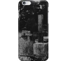 The Cemetery Incident (detail) iPhone Case/Skin