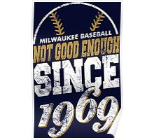 Milwaukee Baseball Poster