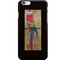 Scarlet Macaw PARROT iPhone Case/Skin