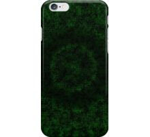 Block Carbon Green Edition 13 of 37 iPhone Case/Skin