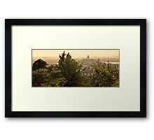 View from Jing Shan Framed Print