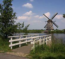 Windmill  Kinderdijk  by AnnieSnel