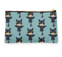 Hiccup in Toothless costume-How To Train Your Dragon chibi Studio Pouch