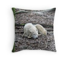 Asleep...With You In My Heart Throw Pillow