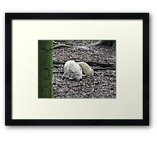 Asleep...With You In My Heart Framed Print