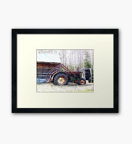 John Deere AR 1943/1947 Framed Print