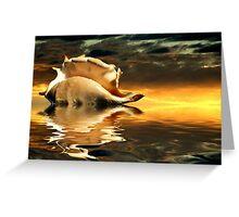 """""""Seaside Dawn"""" Greeting Card"""