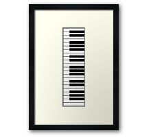 Piano Keys in the Key of Me! Framed Print