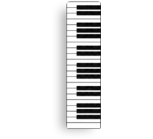 Piano Keys in the Key of Me! Canvas Print