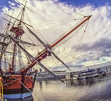 HMB Endeavour by Paul Amyes