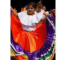 Folkloric Dancers Photographic Print
