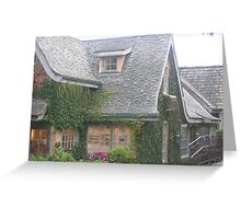 Carmel, A Storybook Town  Greeting Card
