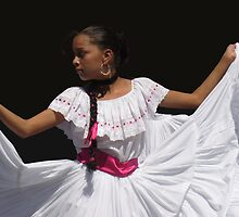 Folkloric Dancer, Ciudad Colon, Costa Rica by Guy C. André Tschiderer