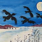 As the Crows Fly by Suzi Linden