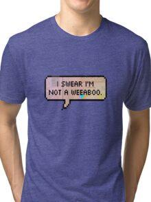 I swear I'm not a weeaboo Tri-blend T-Shirt