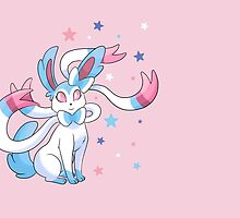 Shiny Starry Sylveon by alienaviary