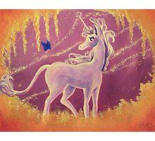 The Last Unicorn Painting Photographic Print