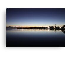 Sunrise, Eastern Beach, Geelong, Victoria Canvas Print