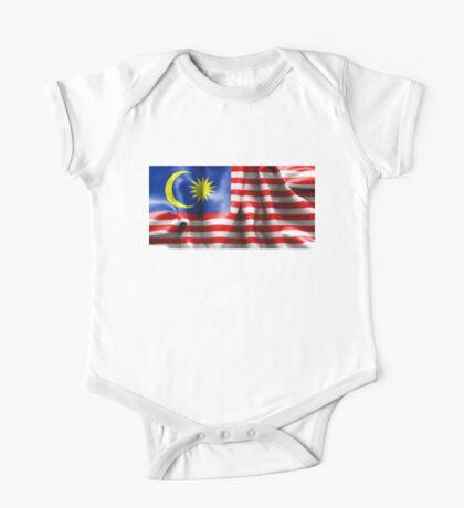 Malaysia Flag One Piece - Short Sleeve