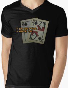 BlackJack CM Mens V-Neck T-Shirt