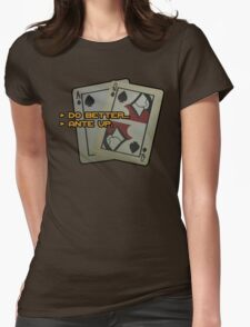 BlackJack CM Womens Fitted T-Shirt