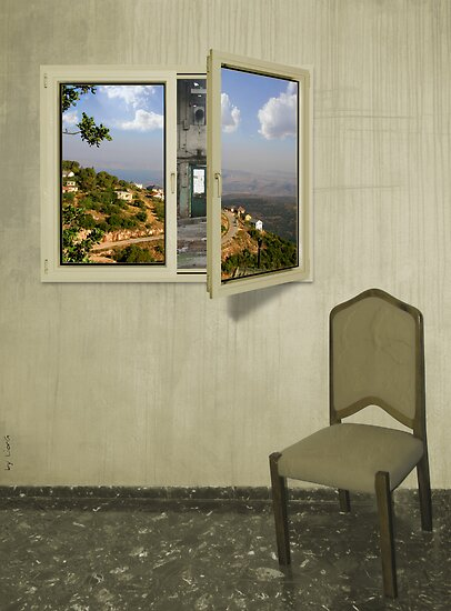 A room with a view by Lior Goldenberg