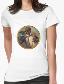 Telephone operator Womens Fitted T-Shirt